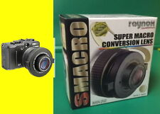 Raynox MSN-202 Super Macro Lens +Snap-On UAC3500 To 52mm 55mm 58mm 62mm 67mm