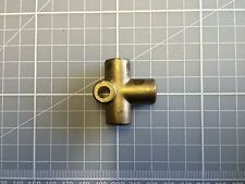 7/16 x 20 UNF  brass 3 way Tee piece Female  for brake / clutch concave seat