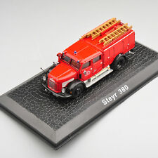 Atlas 1 72 Scale Metal Diecast Steyr 380 Old Fire Truck Car Model Vehicle Toy