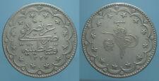 Turchia 20 Kurush ah 1327/9° (1917) Muhammad V qBB