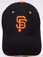 San Francisco Giants SF Insignia MLB BASEBALL New Era BLACK ORANGE HAT CAP
