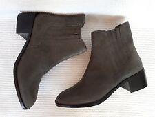 CRICKIT * Ankle Boots / Stiefelette * anthrazit mit Glanz * Echtleder * Gr. 38