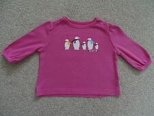 Girl's Baby Gap Long Sleeved T-Shirt Age 0-3 Months