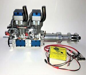 KOLM IL100 - V4 Inline 2-Cylinder 4-Stroke Gas Engine