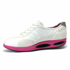Ecco Balance Tao Tone Up Lace Ladies Rolling Motion Shoe White/Pink UK 3.5 EU 36