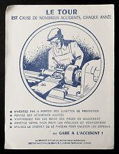 BUVARD PUBLICITAIRE ANCIEN : SECURITE SOCIALE PREVENTION - LE TOUR