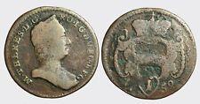 AUSTRIA - MARIA TERESA 1740-1780 -AE/ PFENNING 1759