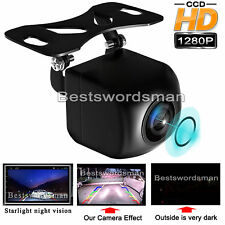 Car Rear Side Front View Reverse Backup Camera 170° 1280P Low Light Night Vision
