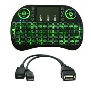 Mini Wireless Keyboard Mouse for Amazon FIRE Stick 4K & 2nd GEN OTG Cable USB