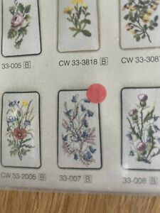 Eva Rosenstand Cross Stitch Glasses Kit Approx 15x22cm - One With Red Dot