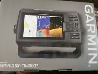 Garmin 010-01872-00 5 in. Fishfinder with Transducer - Black
