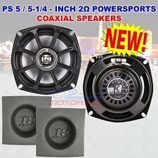 FOR HARLEY DAVIDSON KICKER 5.25 SPEAKERS SELECT BIKE 2OHM FRONT OR REAR BAFFLES