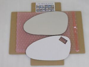 D389L FOR PORSCHE 911 Boxster Cayman Mirror Glass Driver Side Left +FULL ADHESIV