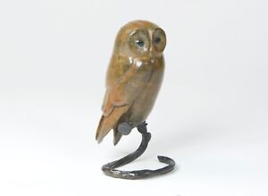 Tawny Owl Solid Bronze Steve Boss Ltd Edition