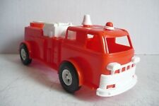 Mexican Fire Ladder Truck - Plastic Toy - Made In Mexico - Plasticos Impala