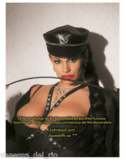 Vanessa del Rio PHOTO Collectible 8x10 COLOR Bust Whip! will Sign Aft/BUY w/COA