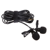 Electret Condenser Type Mobile Microphone for Mobile Phones Computer - Black