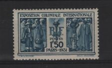 "FRANCE STAMP TIMBRE 274 "" EXPOSITION COLONIALE PARIS 1F50 "" NEUF xx LUXE  R815"