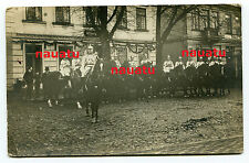 Foto Kürassier Königin Rgt. 2 Pasewalk in Burg Fehmarn 1914