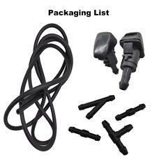 For Dodge RAM 1500 Car Windshield Wiper Water Spray Hose Jet Washer Fluid Nozzle