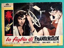 T12 FOTOBUSTA LA FIGLIA DI FRANKENSTEIN RICHARD CUNHA JOHN ASHLEY SALLY TODD 2