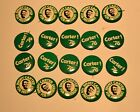 20 Jimmy Carter for President PINS 1976 pin back 2 styles