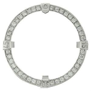 3.00 Carats TW Custom Diamond Bezel For Breitling Super Avenger