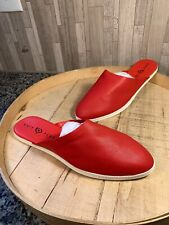 Katy Perry 10M Leather Mules The Marcella Slip-On Shoes Scarlett
