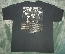 BERETTA M9 WORLD TOUR T SHIRT XL 2 SIDED PISTOL USAF UNITED STATES ARMED FORCES