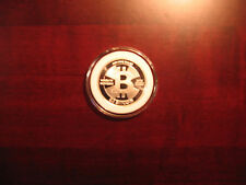 2013 CASASCIUS 0.1 Loaded .999 Silver Bit coin (Physical Coin/LTC/ETH/BTC/Monero