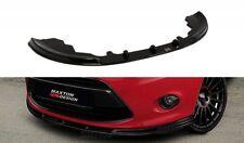 Ford Fiesta MK7 Spoiler Sottoparaurti Lama Anteriore + LUCIDO/SATINATO/CARB.LOOK