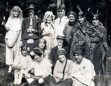 1920 Costume Party Gender Switch Men Women Indians
