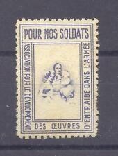 FRANCE -- ERINOPHILIE -- Vignette Armée -- POUR  NOS  SOLDATS