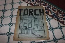 Vintage Irvington New Jersey 1940 High School Yearbook-Torch-Advertisements