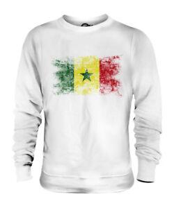 Senegal Harvest Flag Unisex Sweater Jumper Sweater Sweatshirt Mens Womens