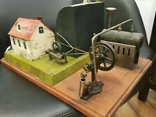 Jean Schoenner Steam Engine Water Mill Diorama, Germany, 1902 - Fabulous !