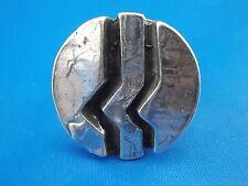 TEKA Design Ring 925 Silber vintage Ø18mm offen Modernist Blogger Boho 60er 70er