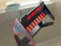 Rear Wing Spoiler Adjustable NEW for Arrma Infraction BLACK edition