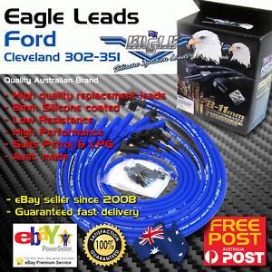 Eagle 8mm Ignition Spark Plug Leads fits 8cyl 302-351 Cleveland V8 XW-XD