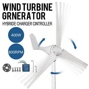 400W/12V Windgenerator Windkraftanlage Windrad 3blades Wind Turbine Generator