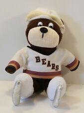 The Petting Zoo Hershey Bears Hockey Bear with Skates and Cap Plush 1994