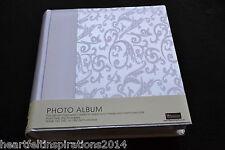 Wedding/Bridal/ White Satin Photo Album In Gorgeous Gift Box.... LAST TWO!!!!!!!