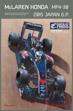 1/20 2015 McLaren MP4/30 HONDA GIAPPONE Kit da Ebbro ~ EBR2015 ~ pulsante/Alonso