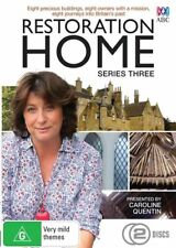 Restoration Home : Series 3 DVD - NEW & Sealed 2015 2-Disc ABC Grand Designs