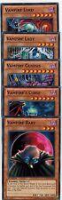 5-card set: Vampire Baby_Vampire'sCurse Genesis_Lady_ Lord Lcjw 1st Set YUGIOH