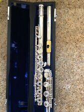 Verne Q. Powell Boston Sonaré PS 601, Gold Platelet, Open Hole Flute