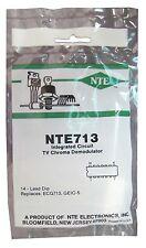 NTE713: IC: TV Chroma Demodulator: Replaces CA3072: 14-Pin DIP