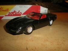 Old Solido 1/43  Chevrolet Corvette convertible          MIB   (22-027)
