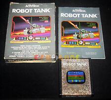 ROBOT TANK Atari Vcs 2600 Versione Italiana ••••• COMPLETO