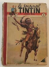 RELIURE/ALBUM du JOURNAL TINTIN n°3 (n°35 à 51) 1949 ED FRANCAISE HERGE/JACOBS
